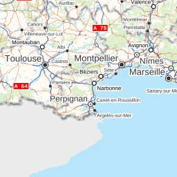 Map Of France Roads.France Roads And Recreation