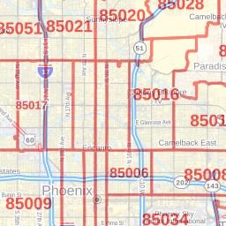 Glendale AZ ZIP Code Map, Arizona on glendale community college az map, glendale az to las vegas map, arizona center map, peoria az map, mesa az airport map, glendale center map, glendale street map,